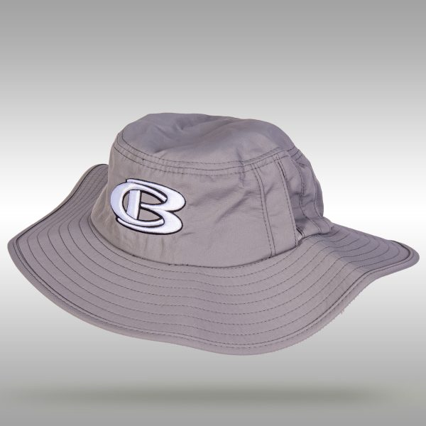 CB Bucket Hat, Grey - Cooperstown Bat Company