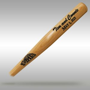 Baseball Wedding Favor Miniature Baseball Bat