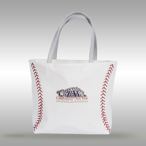 Baseball Leather Tote Handbag-Purse Bag