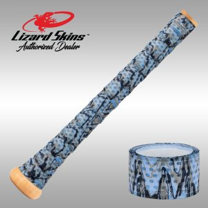 Carolina Camo Lizard Skins, Bat Wraps, Bat Grips