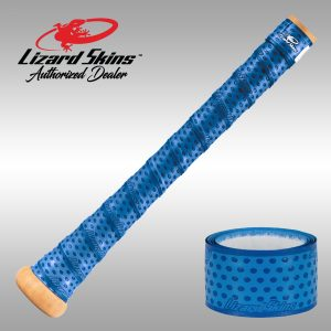 Electric Blue Lizard Skin, Bat Wrap, Bat Grip