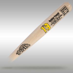 Robin Yount Custom National Baseball HOF Stat Bat