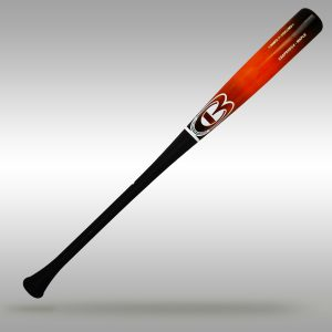 Cooperstown Bat Custom Junior Big Barrel CBAP5HD Pro Wood Baseball Bat features a 3/4 Knob