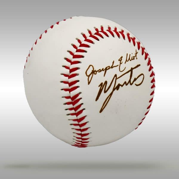 Engraved Signature Baseball