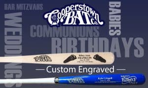 Cooperstown Bat Custom Engraved Bats