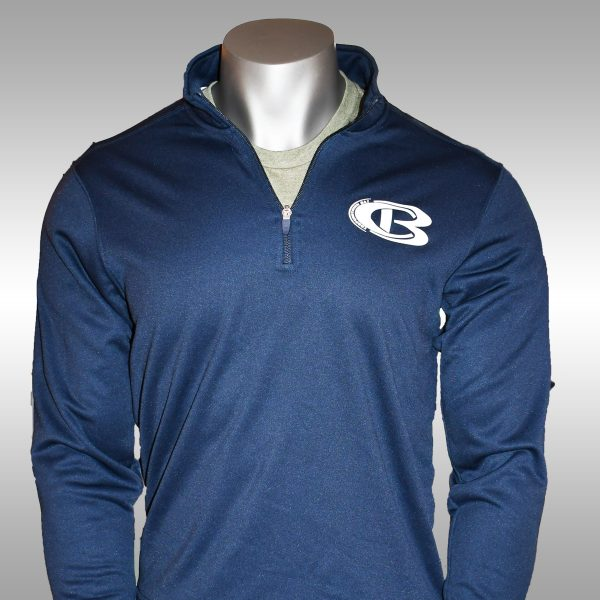 Cooperstown Bat CB 1/4 Zip Performance Fleece