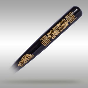 Cooperstown Bat Coach Gift Bat with Roster