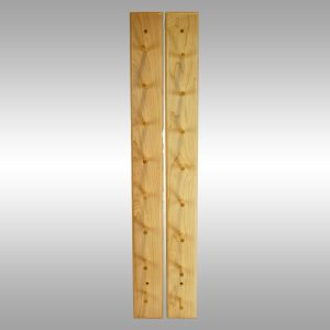 Baseball Bat Display Rack–8 Bat Peg Style